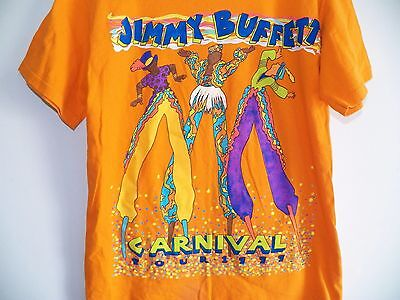 Vintage JIMMY BUFFETT 1998-1999 Carnival Tour Concert size Mens Large T-Shirt