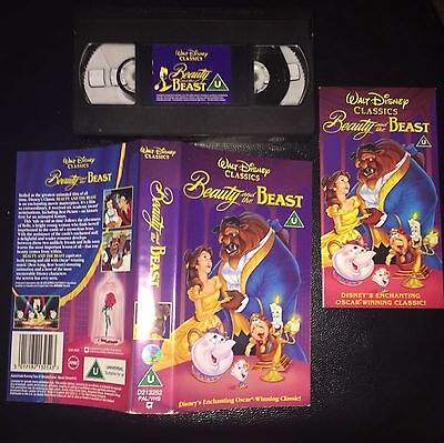Walt Disney Classic Beauty And The Beast VHS - Pre Owned