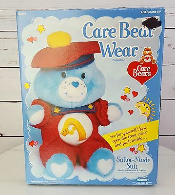 Vintage Care Bear Wear Sailor Made Suit Red French Carebear outfit