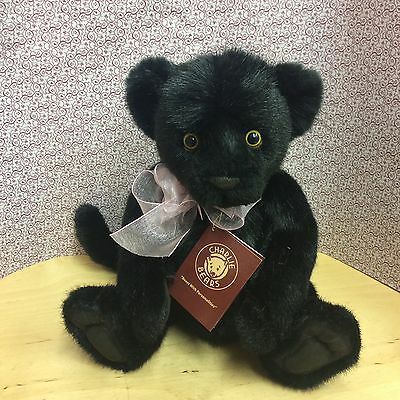 Charlie Bears Chica Black Panther Cub Plush Jointed New For 2017