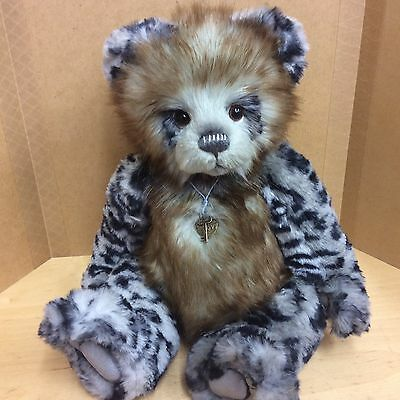 Charlie Bears Tatum 14 Inch Plush Jointed Bear Fully Jointed  New For 2017