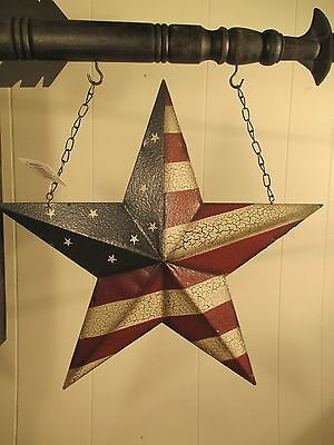"""""""americana Tin Star"""" - Metal Replacement For Country Arrow Sign  Holders"""