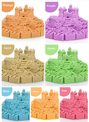 Magic Motion Colorful Kinetic Sand Kid Child DIY Indoor Play Craft Non Toxic Toy