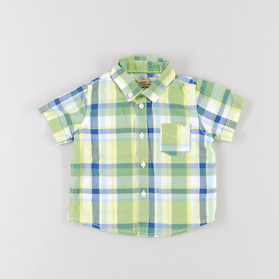 Camisa color Verde marca Mayoral 6 Meses