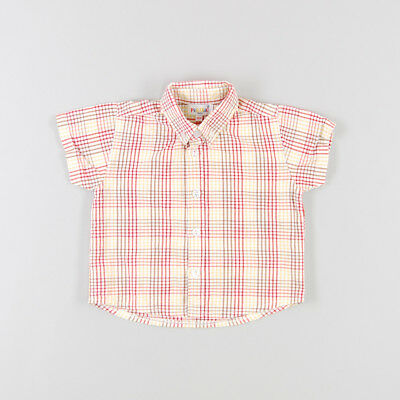 Camisa color Blanco marca Pick Ouic 18 Meses