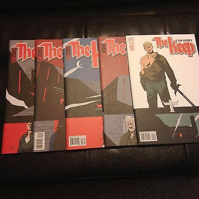 The Keep #1 2 3 4 5 By F Paul Wilson & Smith Complete Set WWII Horror NM/M 2005