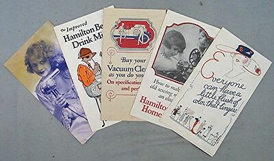 Five Vintage Hamilton Beach Products Advertising Pamphlets