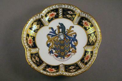 Limited Edition Royal Crown Derby Commemorative Pin Dish - Perfect