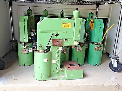 JORACO PNEUMATIC TOGGLE-AIRE 3 TON PRESS - MODEL 1030CRS with DIE SET and MANUAL