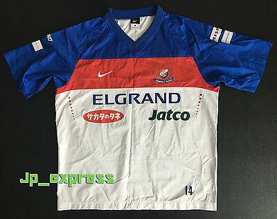 J-League Football Yokohama F. Marinos 2010 Player Supply Training Top #14 Size-L