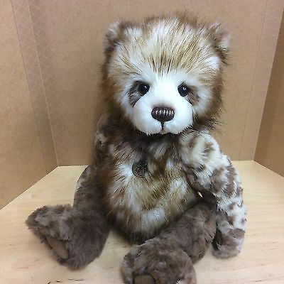 Charlie Bears Tegan 14Inch Plush Jointed Bear Brand New For 2017 Collection