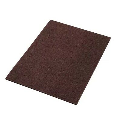 "America Maroon EcoPrep ""EPP"" Chemical Free Stripping Floor Pads 12""x18""-10/Case"