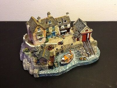 Vintage Danbury Mint 'Safely Home' by Jane Hart, comssioned for RNLI