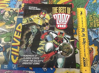 The Best Of 2000Ad Large 400-Page Hardback Book