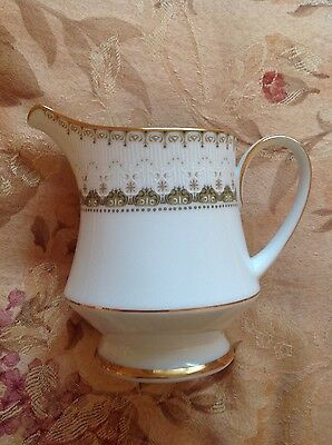 Noritake Japanese Bone China Katrina Milk Jug 2254
