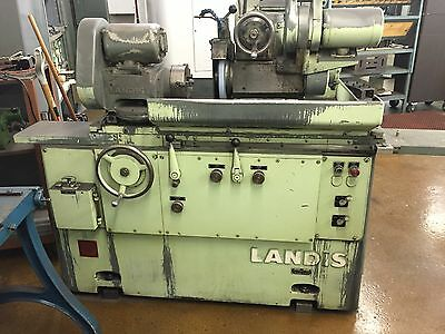 "Landis 1R Universal Cylindrical Grinder 3hp 10"" Swing 20"" Centers 600RPM"