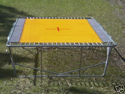 AUST RECTANGLE TRAMPOLINE OLYMPIC 14+ft Gymnastic Competition Mat Woven 2string