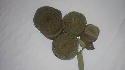 WW1 WWI WW2 WWII Canadian British Puttees Wraps