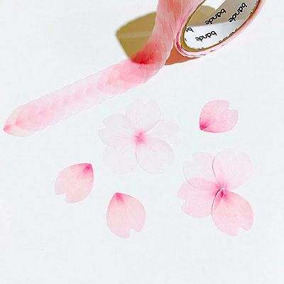 Bande Masking Roll Sticker Flowers Stickers Sakura Petals (BDA218)