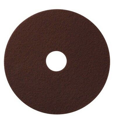 "America Maroon EcoPrep ""EPP"" Chemical Free Stripping Floor Pads 13"" DIA-10/Case"