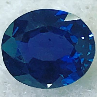 Natural 0.91 Carat Unheated Blue Sapphire Color Change Rare Oval Loose Gemstone