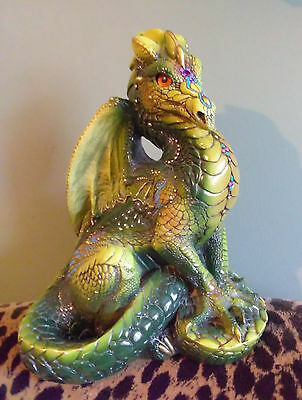 Realistic Windstone Editions Stunning Baby Dragon Sculpture/Statue