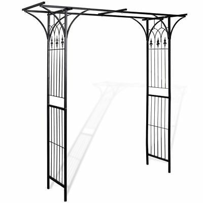 B#Garden Arch 200 cm High Weather Resistant garden gate arbor trellis