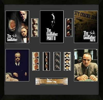 The Godfather Large Mixed Film Cell Montage Marlon Brando