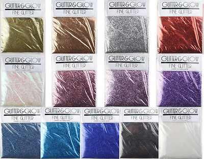 25g Fine Acrylic Glitter Powder Dust Metallic Decoration Craft Nail Art