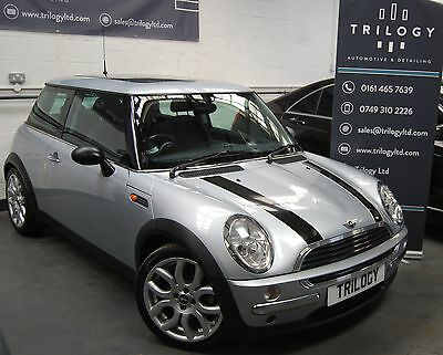 2002/02 Mini One 1.6, Metallic Silver, Fsh, Panoramic Sunroof, Low Miles!