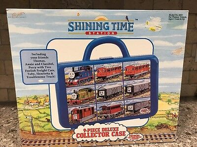 Shining Time Station 9-Piece Deluxe Collector Case Thomas The Tank Engine Trains