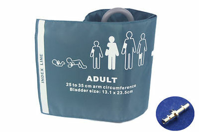 Adult NIBP Cuff With one Connector single tube Reusable,25-35 cm,with bag