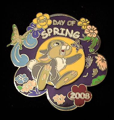 AP Artist Proof LE Bambi 1st First Day of Spring 2008 Thumper Flower Disney Pin