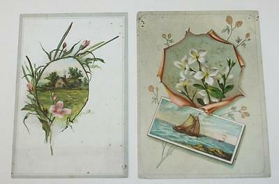 Vintage Lot of Lion Coffe Victorian Trade Cards Advertising Food Woolson Spice