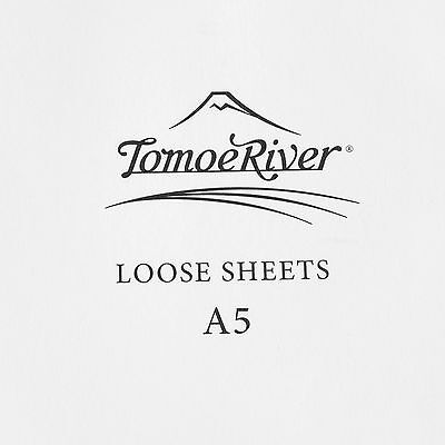 Fountain Pen Paper Tomoe River A5 White 100 Loose Sheets Quality 150mm x 210mm