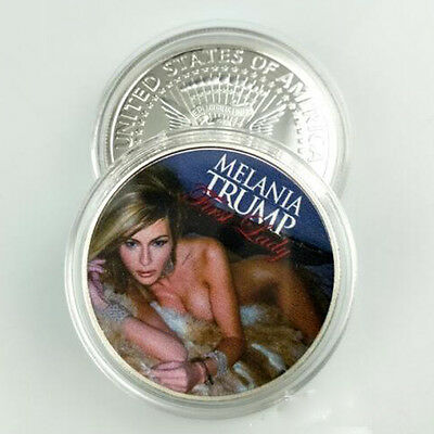 MELANIA TRUMP Republican First Lady 2016 President Campaign Half Dollar Coin US