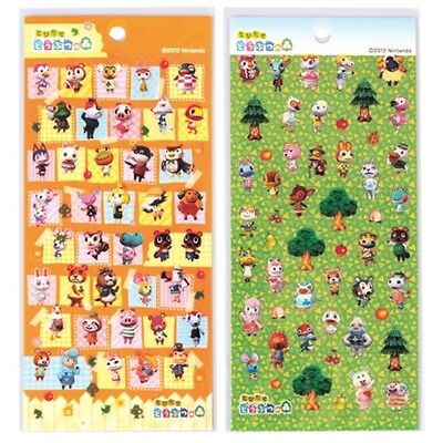 Animal Crossing Character Sticker Sheet