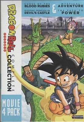 Dragon Ball: Complete Collection - Movie 4 Pack (DVD, 2011, 2-Disc Set)