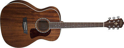 Washburn HG12S Heritage Grand Auditorium Acoustic Guitar. Solid Mahogany Top