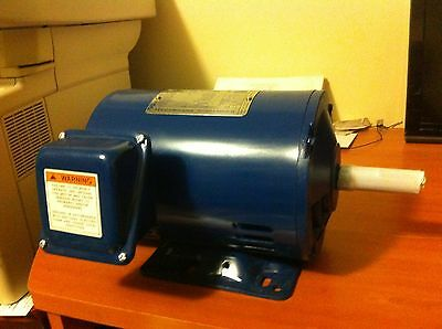 ELECTRIC MOTOR ROLLED STEEL ODP 2 HP, 1750 RPM, 230/460 Volts