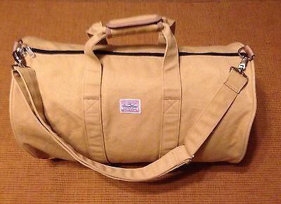 Benny Gold Large Canvas Duffle bag Skateboard San Francisco Retro Hipster