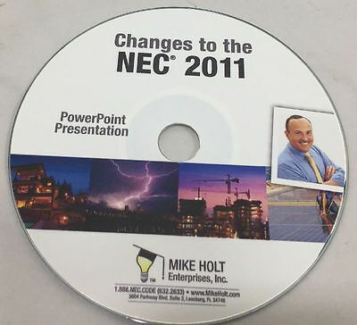 Mike Holt's Changes to the 2011 NEC CD