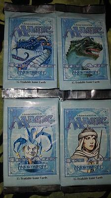 MTG TCG 4x Ice Age Booster Packs NM/ENG