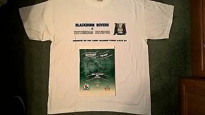 Blackburn Rovers 2002 Worthington Cup Final Programme And Shirt