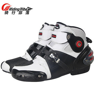 Motorcycle Offroad Sport Motorbike MXGP wheels Ankle Racing Leather Boots Shoes