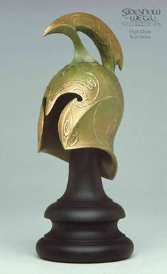 Sideshow Weta HIGH ELVEN HELM Lord of the Rings LotR Helmet 1/4 Scale Rare
