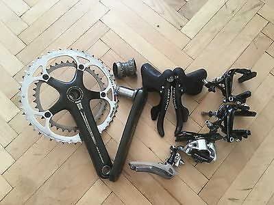 Campagnolo Record Titanium Carbon 10 speed road group set groupset gruppo