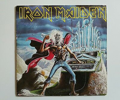 "Iron Maiden - Run To The Hills Live - 7"" Spanish Press"