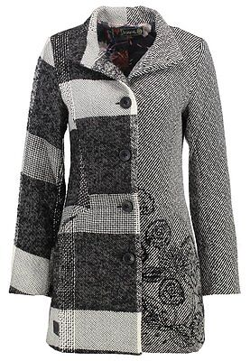 Desigual Jacket Cappotto Donna Women Coat Giacca