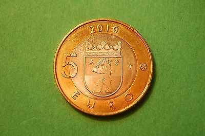 2010 Five (5) Euro Finland Bi-Metal Commemorative Coin